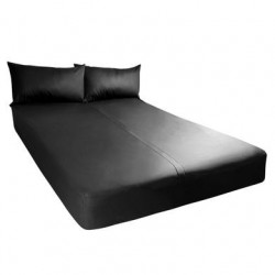 Exxxtreme Sheets - California  King Size - Black