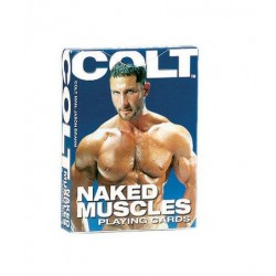 Colt Naked Muscle Playing Cards - Bulk