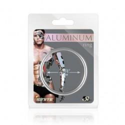 Aluminum Ring - Platinum -  2.25-inch Diameter