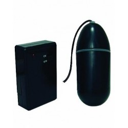 Waterproof Remote Control Bullet - Black