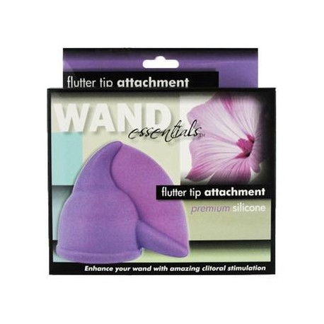 Flutter Tip Wand Attachment  - Purple