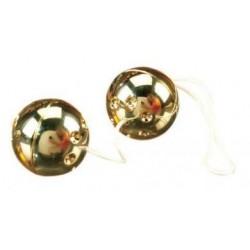 2 Piece Gold Vibro Balls Set