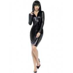 Fever Miss Whiplash Pencil  Dress - Large