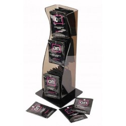 On Natural Arousal Oil 40 Single Packets - Tower Display