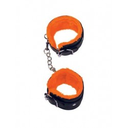 The 9's Orange is the New Black Love Cuffs Ankle - Black