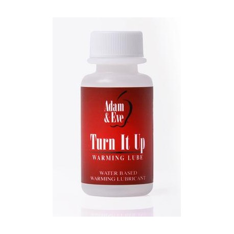 Adam and Eve Turn It Up  Warming Lubricant - 1 Oz.