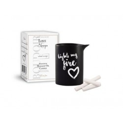 Body Boudoir Love in Luxury Pheromone Massage Oil Candle - Moroccan Fusion - 5.2 Oz.