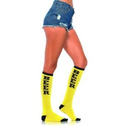 Beer Run Knee High Socks - One Size