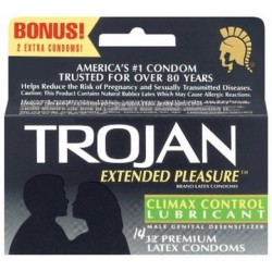 Trojan Extended Pleasure - 12 Pack TJ97250