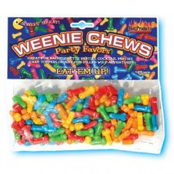 Weenie Chews - Multi Flavor Assorted Penis Shaped Candy