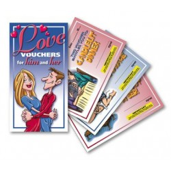 Love Vouchers for Him and  Her Coupons