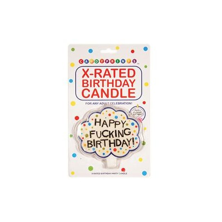 X-Rated Birthday Candle