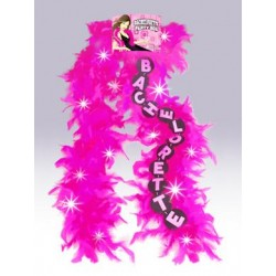 Bachelorette Flashing Boa - Pink