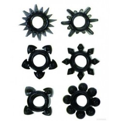 Tower Of Power - Set of 6 - Black