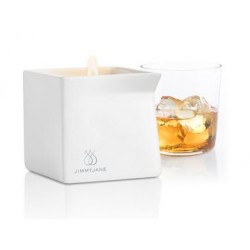 Afterglow Bourbon Massage Oil Candle - 4.5 oz.