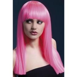 Alexia Wig - Neon Pink