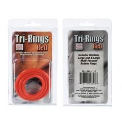 Tri Rings - Red