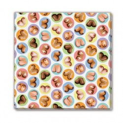 Mini Boobs Napkins - 8 Pack