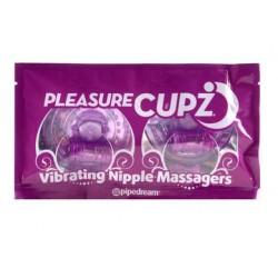 Pleasure Cupz Vibrating Nipple Massagers
