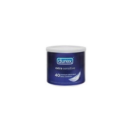 Durex Extra Sensitive 40 Count Bowl