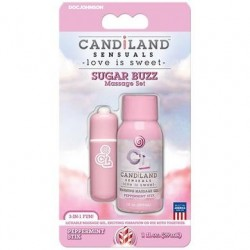Candiland Sensuals - Sugar Buzz Massage Set - Peppermint Stix