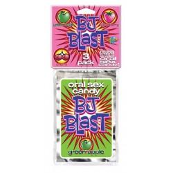 BJ Blast 3 Pack Cherry,Strawberry and Green Apple