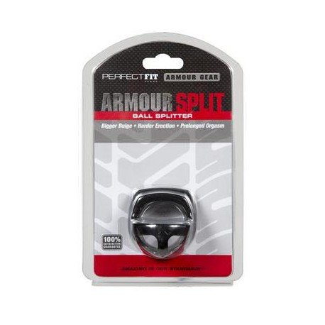 Armour Split Cockring Black