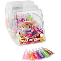 Edible Body Paint Bowl 120Pcs 10Ml