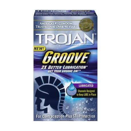 Trojan Groove - 10 Pack