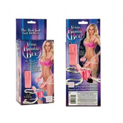 Venus Bumble Bee Strap On Vibrator