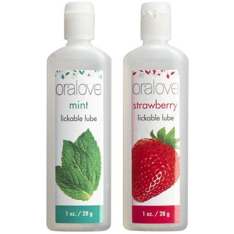Oralove Dynamic Duo - Strawberry And Mint