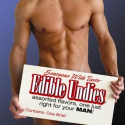 Male Edible Undies - Chocolate