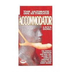 The Accommodator Latex Dong - Natural