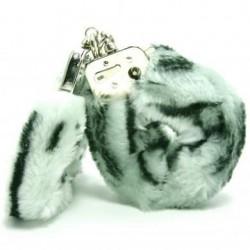 Plush Love Cuffs - Zebra