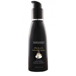 Aqua Mocha Java Flavored Water-Based Lubricant - 4 oz.