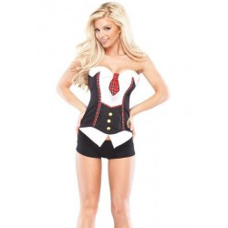 School Girl Corset - Large