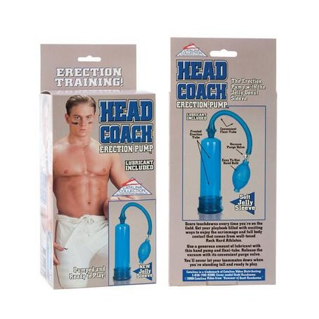 Head Coach Erection Pump With Lubricant - Blue