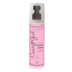 Crazy Girl Wanna Be Naked Intimate Shave Creme-  Pink Cupcake