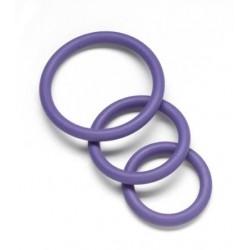 Nitrile C Ring Set  Purple