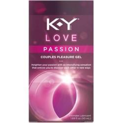 Ky Love Passion Couples Pleasure Gel 1.69 Oz