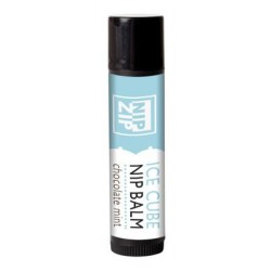 Nip Zip Ice Cube Nip Balm -  Chocolate Mint - Tube Carded