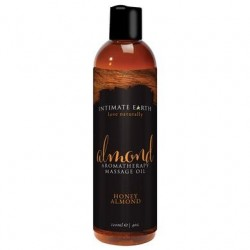 Almond Aromatherapy Massage Oil Honey Almond - 4  Oz/ 120 Ml