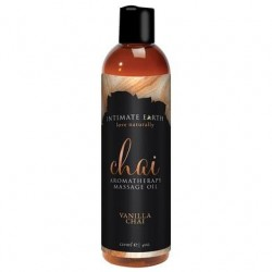 Chai Aromatherapy Massage Oil Vanilla Chai - 4 Oz. / 120 Ml