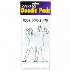 Nudie Doodle Pads - Couples 12 Pcs.