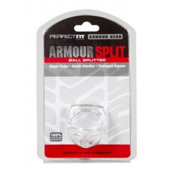 Armour Split Cockring Clear