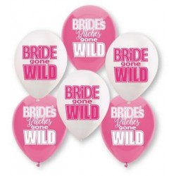 Bride Gone Wild Balloon Assortment - 6 Ballons