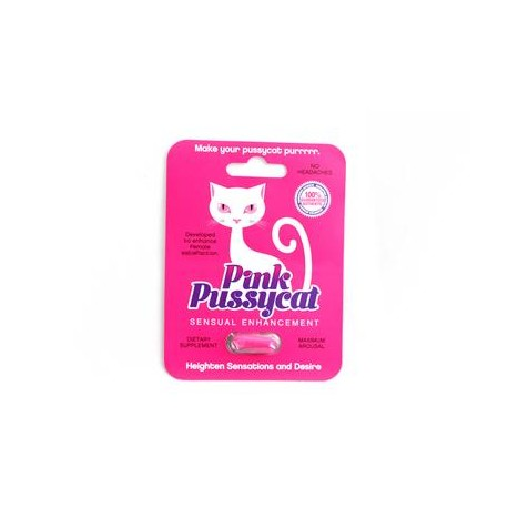 Pink Pussycat Sensual Enhancement - Single