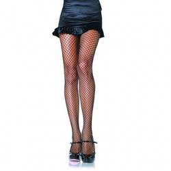 Industrial Net Pantyhose  - Black - 1x - 2x