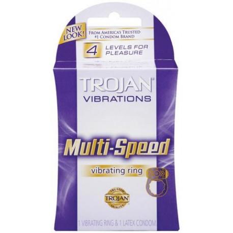Trojan Vibrating Ring Multi-Speed