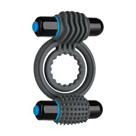 Optimale Vibrating Double C-Ring - Slate